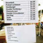 Haubstadt Little League Menu